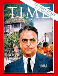 Shriver on Time mag cover 1963